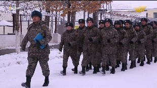 «Айбын». 6505 әскери батальоны