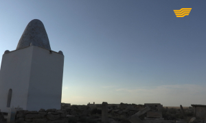 «Символы нашей Родины». Мавзолей Куйеу, подземная мечеть, некрополь Шопан ата, Мавзолей Оглан ата