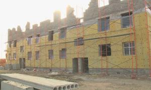 Строительство нового микрорайона ведется в Жаксынском районе Акмолинской области