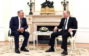 Елбасы РФ Президенті Владимир Путинмен кездесті