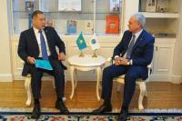 В Секретариате ШОС обсуждены основные положения Послания Президента Казахстана