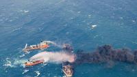 Иранның мұнай танкері Жапония жағалауында суға кетті