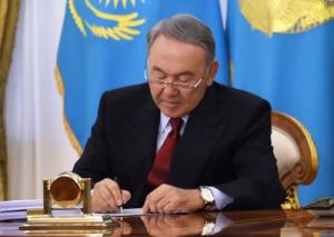 Нурсултан Назарбаев подписал ряд законов