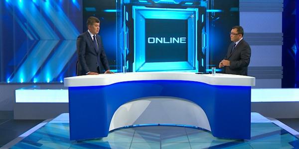 «Online». Медицинские кадры. Елжан Биртанов