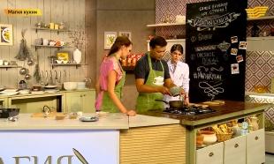 «Магия кухни». Гость: певец Дастан Оразбеков. Блюда: брауни, овсяное печенье