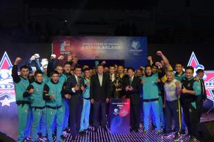 «Astana Arlans» үшінші мәрте WSB чемпионы атанды