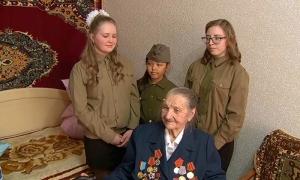 Агентство «Хабар» поздравило ветерана ВОВ Веру Лоткову из Актобе