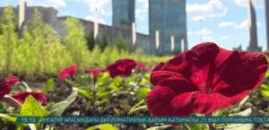 Астанада 120 мың шаршы метрден астам жерге гүл отырғызылады
