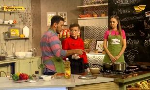 «Магия кухни». Гость: певица Раушан Жумакулова. Блюда: мукека и фейжоада