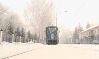 Морозы стали причиной остановки трамваев в Усть-Каменогорске