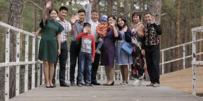 «Мерейлі отбасы-2018». Ақмола облысы, Қалмағанбетовтер отбасы