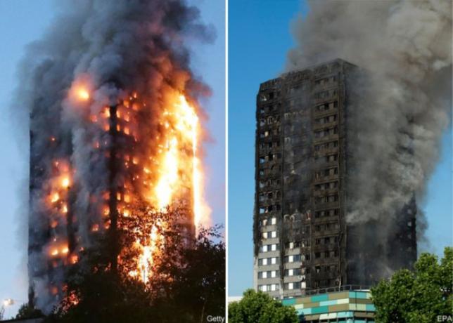 Более 60 человек госпитализированы после пожара в многоэтажном доме в Лондоне
