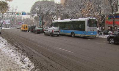 Движение троллейбусов было приостановлено из-за низкого напряжения электроэнергии
