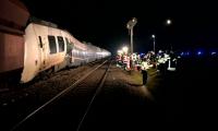 В Германии при столкновении поезда с товарным составом пострадали 50 человек