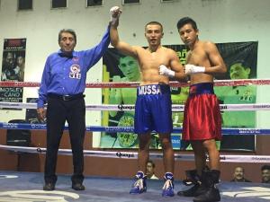 Казахстанский боксер Турсынгалиев выиграл седьмой бой подряд за 22 дня в Мексике