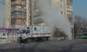 Микрорайон «Таугуль» в Алматы остался без тепла