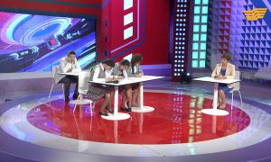 «Орталық Хабар». Мақсұт Нәрікбаев, Досымжан Таңатаров, Шұғыла Сапарғалиқызы