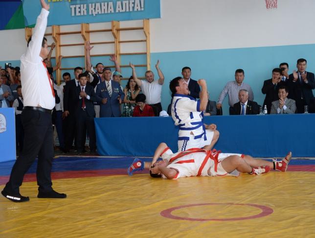 Қызылорда облысында қазақ күресінен халықаралық турнир жеңімпаздары анықталды