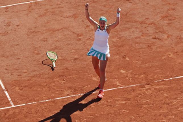 20-летняя теннисистка из Латвии стала победительницей «Ролан Гаррос»