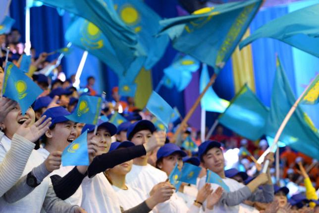 Молодежь Казахстана отмечает международный праздник
