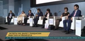 Эксперты АЭФ: диалог с гражданским обществом активизируется