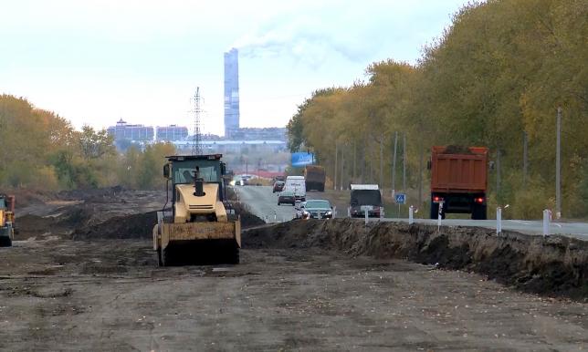 Ведется ремонт международной трассы «Петропавловск - Курган»