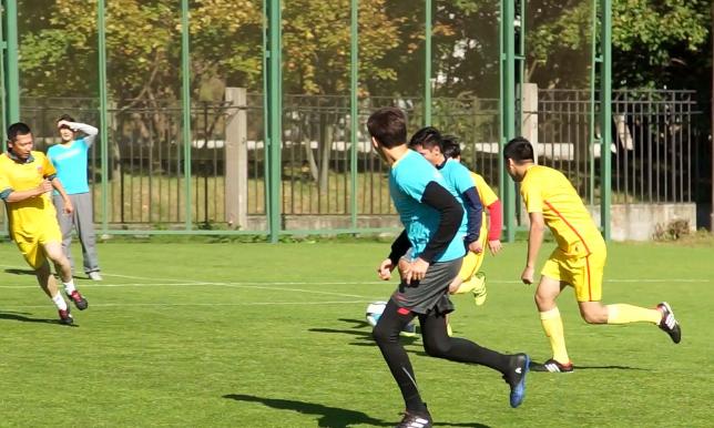 Мәскеуде қазақстандық дипломаттар шағын футбол жарысына қатысып жатыр