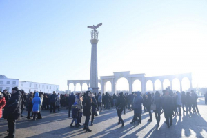 В Актобе появилась стела благодарности казахскому народу