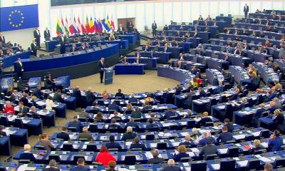 Пленарная сессия Европейского парламента начала работу