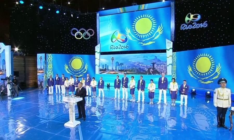 Елбасы Нұрсұлтан Назарбаев Олимпиада жүлдегерлерін жеңістерімен құттықтады