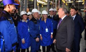 Н.Назарбаева проинформировали об инвестиционной привлекательности Костанайской области