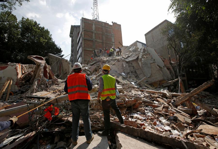 Число погибших при землетрясении в Мексике возросло до 291