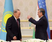 Нурсултан Назарбаев награжден орденом «Ел юрт хурматы» в Узбекистане