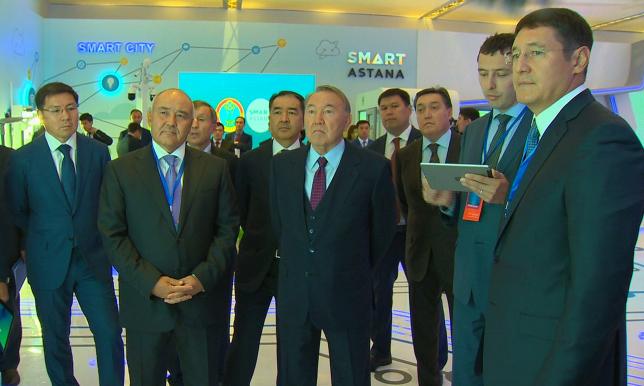Президенту РК рассказали о проектах, реализуемых в рамках программы «Цифровой Казахстан»