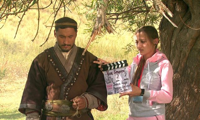 Даурен Абаев посетил съёмочную площадку сериала «Батырлар жолы»