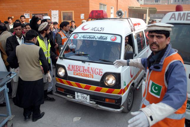 Пәкістанда лаңкестік жарылыстан 20 адам қаза тапты
