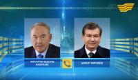 Глава государства провел телефонный разговор с Президентом Узбекистана Ш.Мирзиёевым