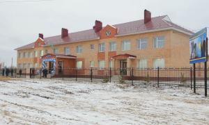 Новую школу открыли в Костанайской области