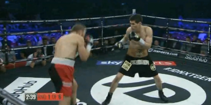 Бокс: Данияр Елеусінов – Габор Горбич. Толық нұсқа