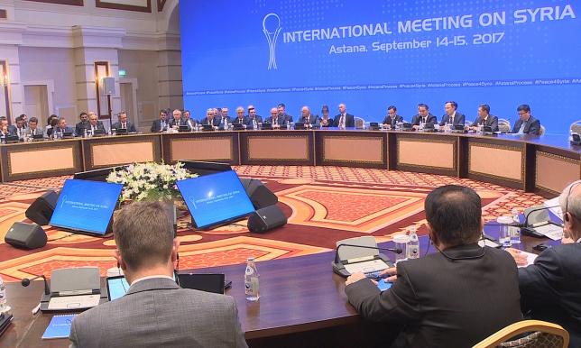 Астана процесінің кезекті раунды нәтижелі аяқталды