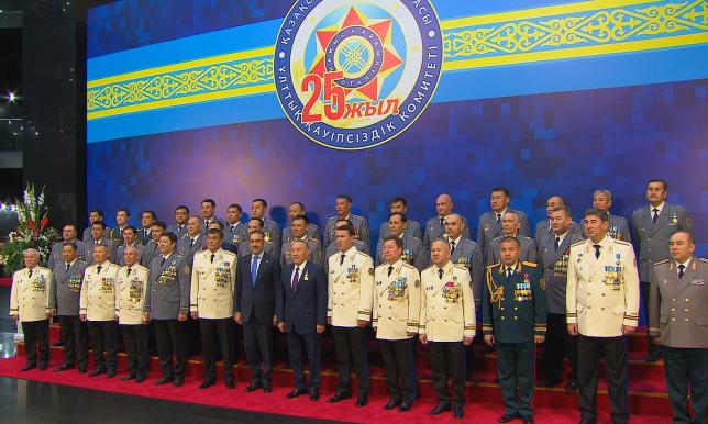 В честь 25-летия КНБ РК состоялось торжественное мероприятие с участием Президента РК