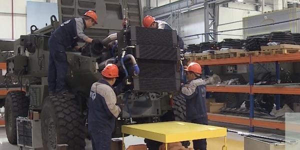 Полный цикл выпуска военной бронированной техники налажен в Казахстане