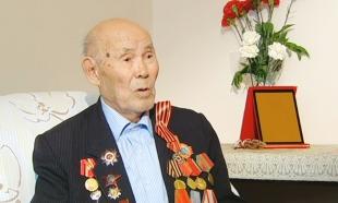 Ветеран ВОВ Бахытгали Абжанов получил поздравления от Агентства «Хабар»