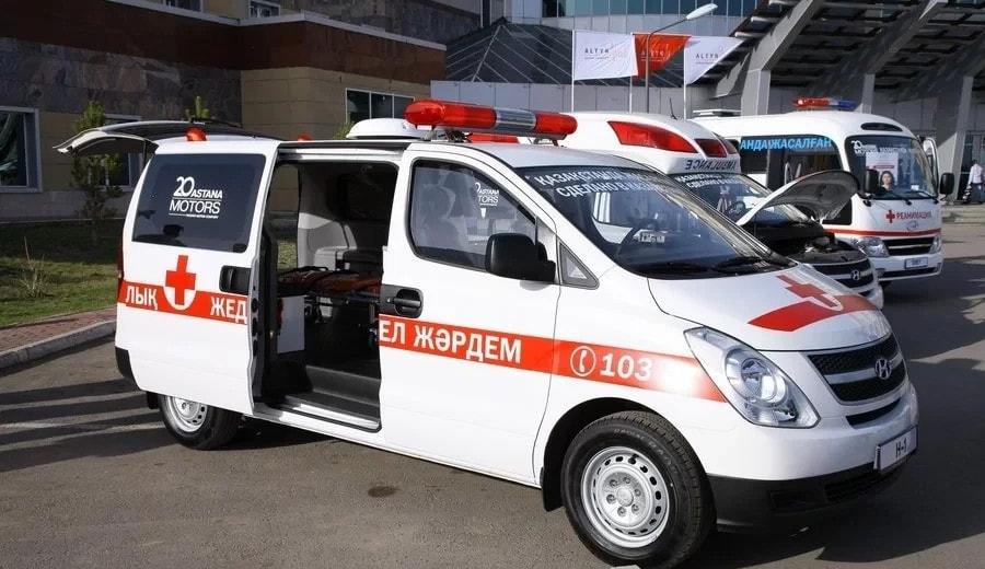 Более 2 тысяч вызовов на станцию скорой помощи ежедневно поступают в Астане