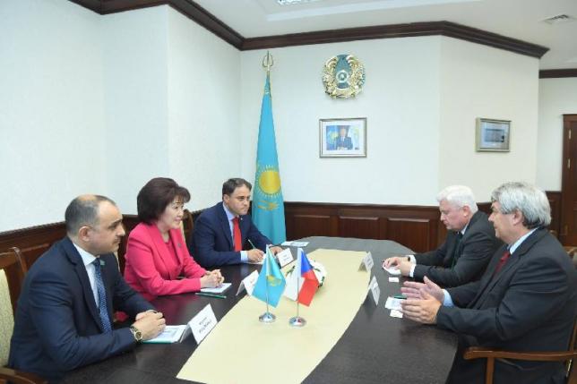 Парламентарии Казахстана и Чехии высказались за укрепление сотрудничества