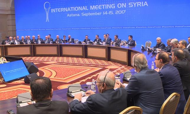 30 и 31 октября пройдет VII встреча в рамках Астанинского процесса