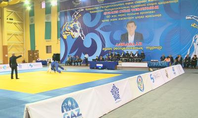 Международный турнир по дзюдо прошел в Атырау