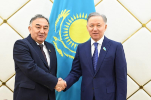 Нұрлан Нығматулин Өзбекстанның парламенттік делегациясын қабылдады