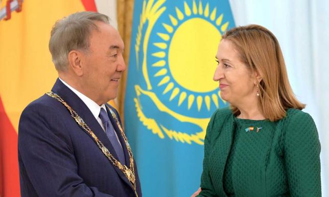 Президент Казахстана награжден Орденом Изабеллы Католической