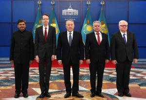 Верительные грамоты Президенту Казахстана вручили послы ряда государств